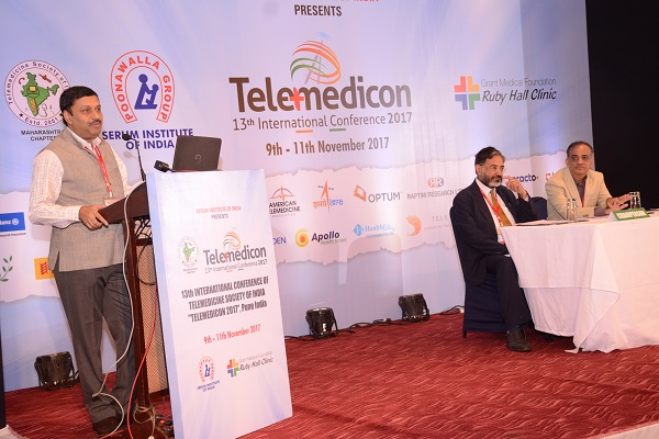 Workshop on Telemedicine & EHR Standards for India 09-11-2017